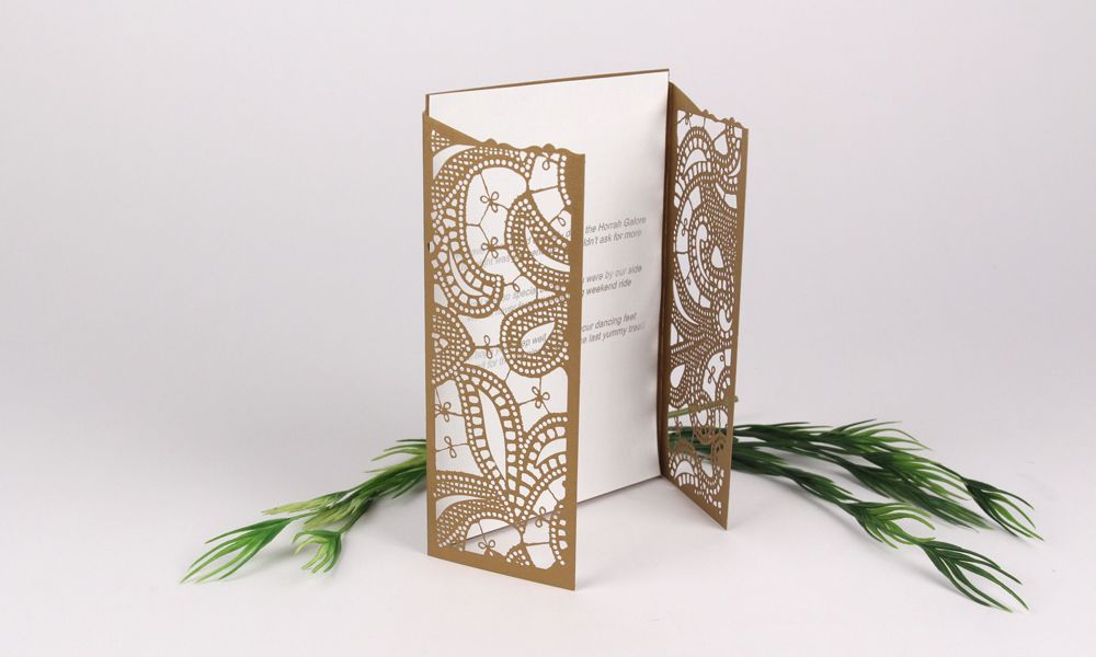 Gatefold Card